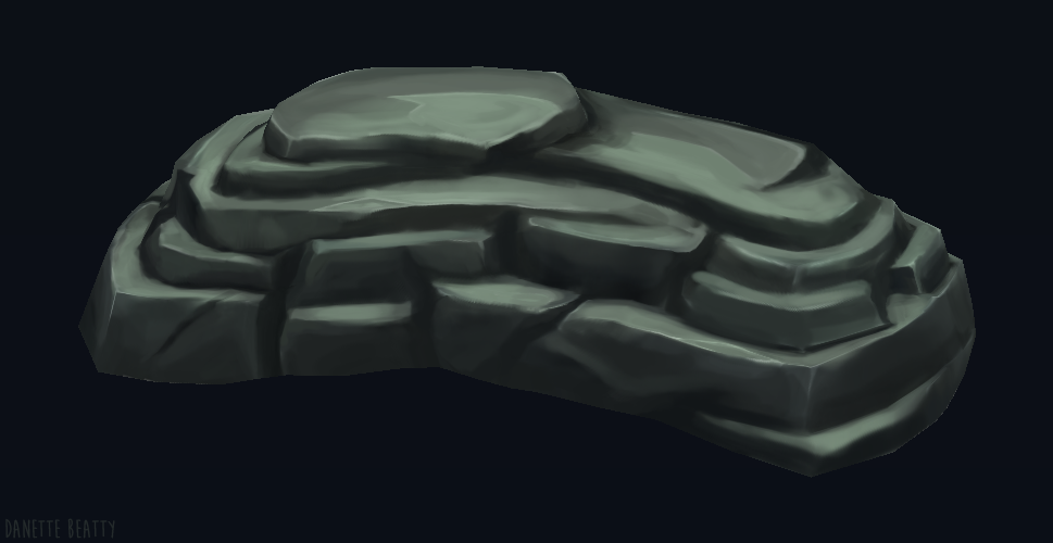 #172 take two for my hand painted textures in 3D coat :D