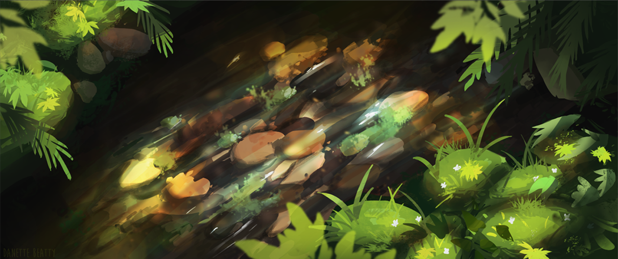 #147 is my first environment painting, heavily inspired by    @intindra