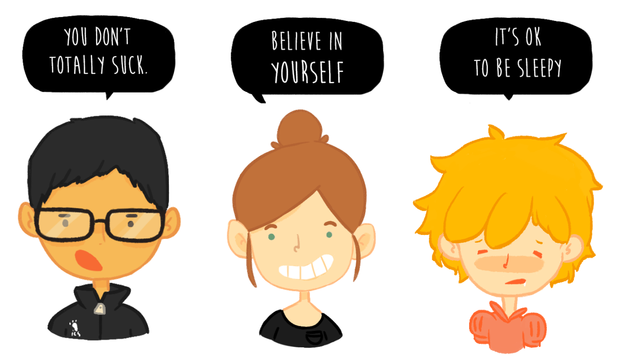 #144 is some little motivational icons :DI also revamped my Patreon page, if anyone would like an icon of their own I have them as a reward for the 5$ tier. This is a one time thing, so if you just want the icon you can sign up for a month and then stop at any point, or just chat with me about it! :)   https://www.patreon.com/salmika?ty=h