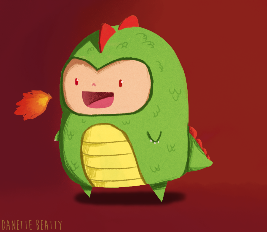 #112 is adorable dino kid