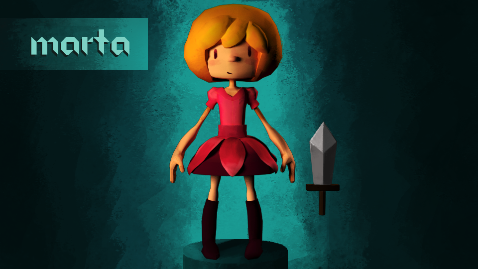 Main character for my app Papercraft! 3D modeled and ready to rumbleee, join me on Patreon for updates and to support my game :D  https://www.patreon.com/salmika?ty=h