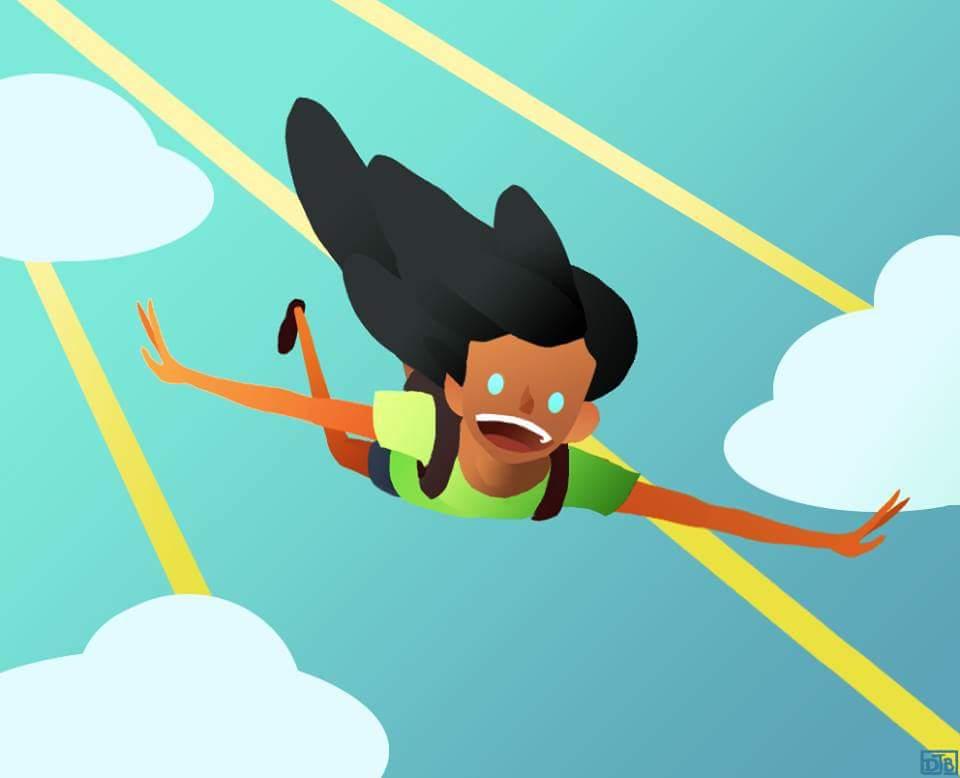 Skydiving is fun!