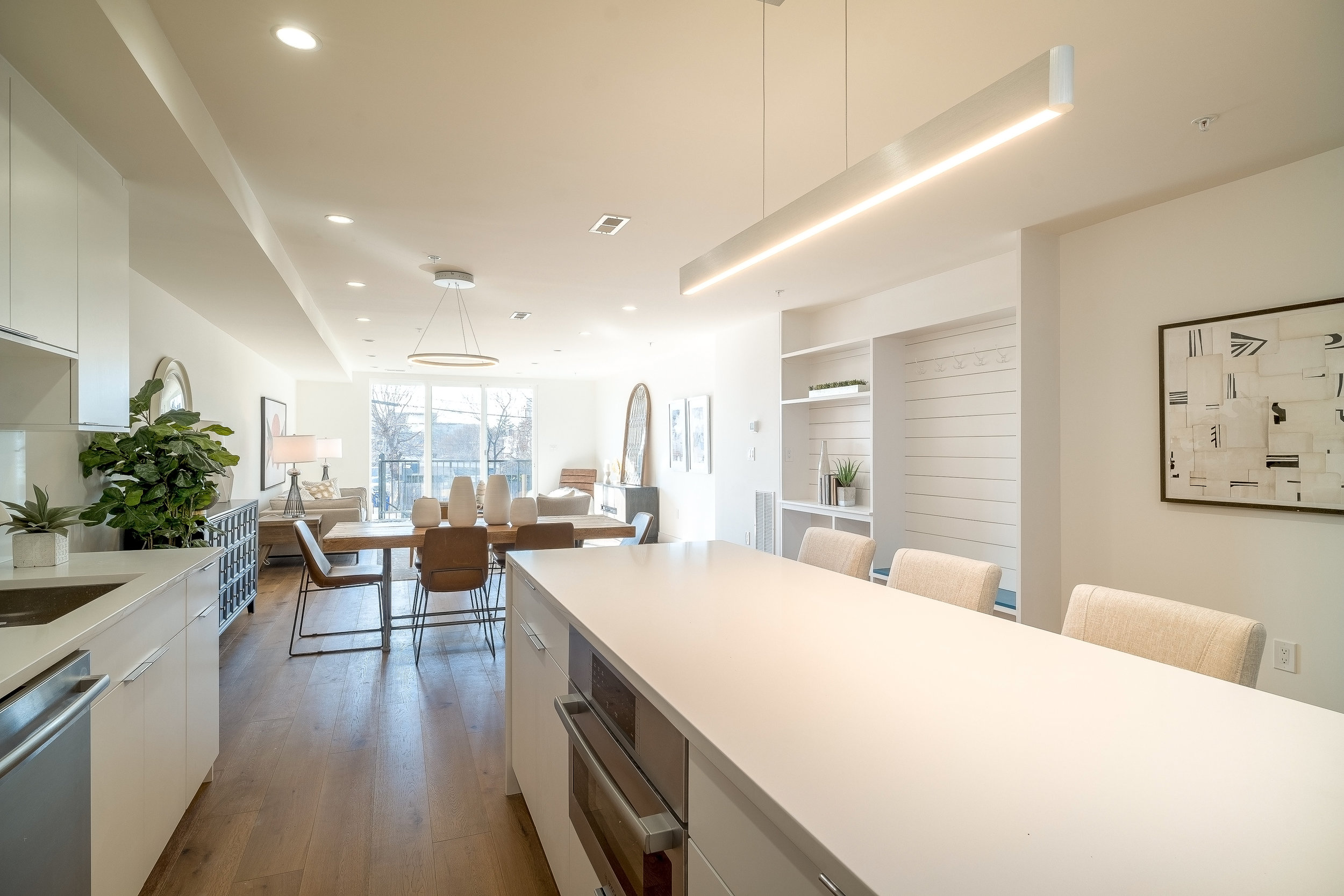 """Featured in Dwell Magazine - """"A multi-family property that is bound to turn heads, this newly completed Washington D.C. gem offers contemporary modernity in its architectural and interior stylings."""""""
