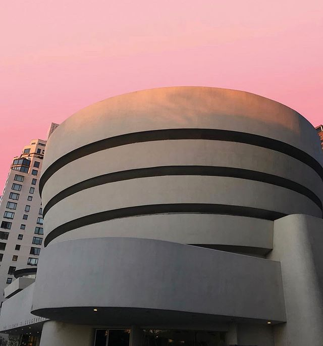 "Happy 60th birthday to the #Guggenheim!🎈 Since its opening on October 21, 1959, the museum's Frank Lloyd Wright–designed building has inspired generations of visitors as a unique ""temple of spirit"" where radical art and architecture meet. ⠀⠀⠀⠀⠀⠀⠀⠀⠀⠀⠀⠀ —— ⠀⠀⠀⠀⠀⠀⠀⠀⠀⠀⠀⠀ The Guggenheim commemorates the 60th anniversary of its landmark building, which was recently designated a UNESCO World Heritage Site, with special performances and activities today—check their website for details! #Guggenheim60 —— ⠀⠀⠀⠀⠀⠀⠀⠀⠀⠀⠀⠀ 📷: @thepouf"