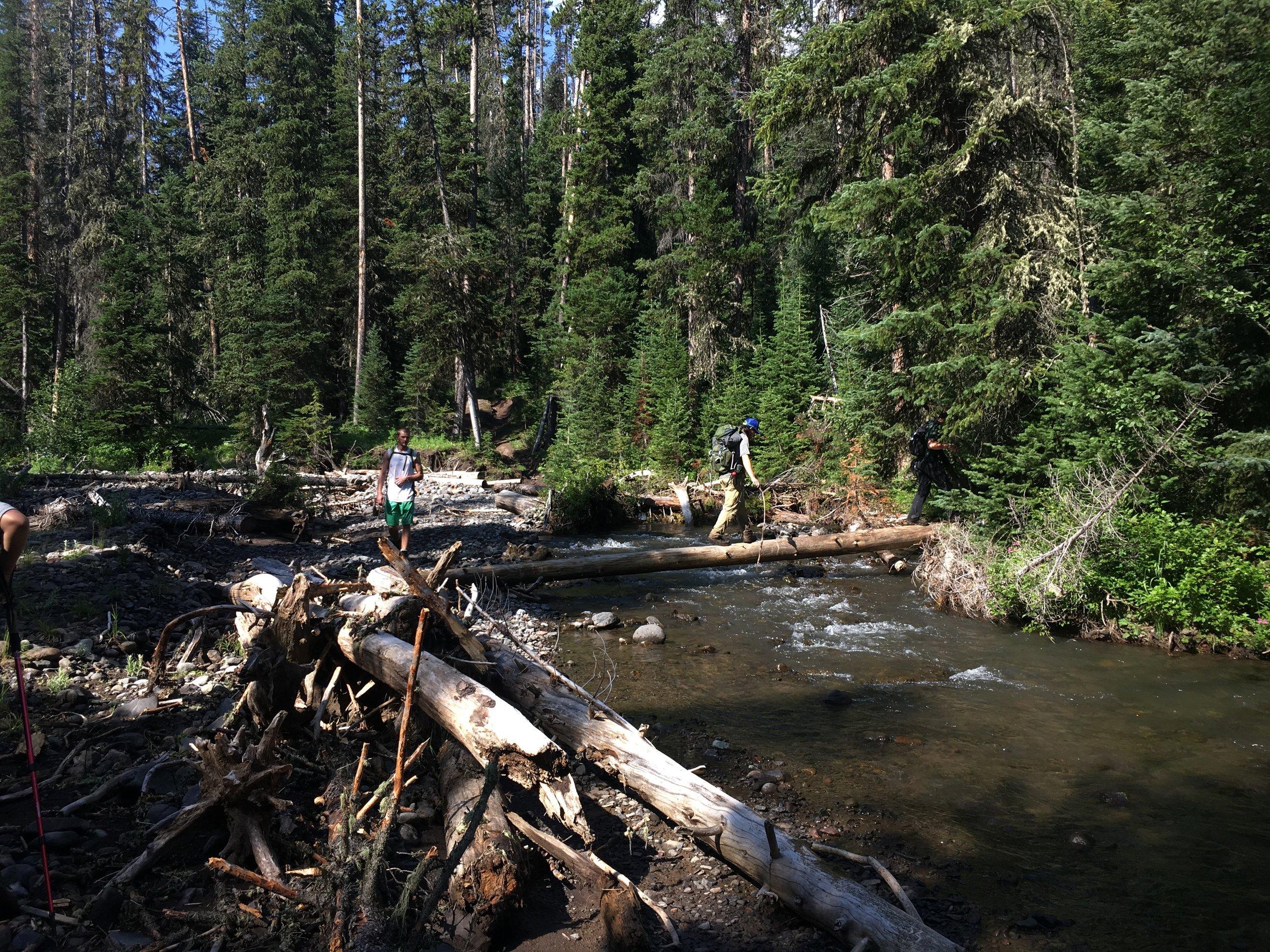 Crossing Eagle Creek-Day 2