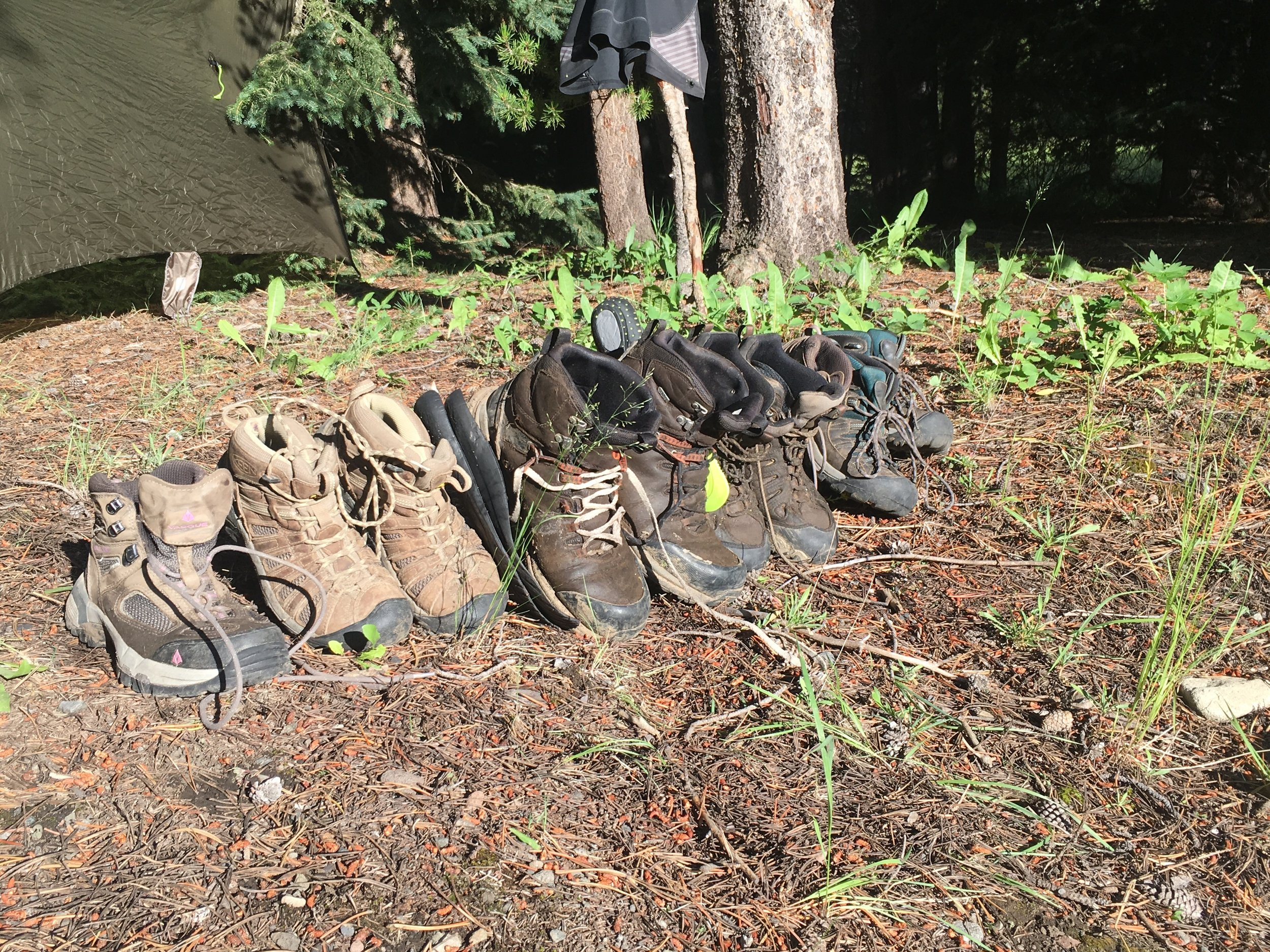 Boots Drying