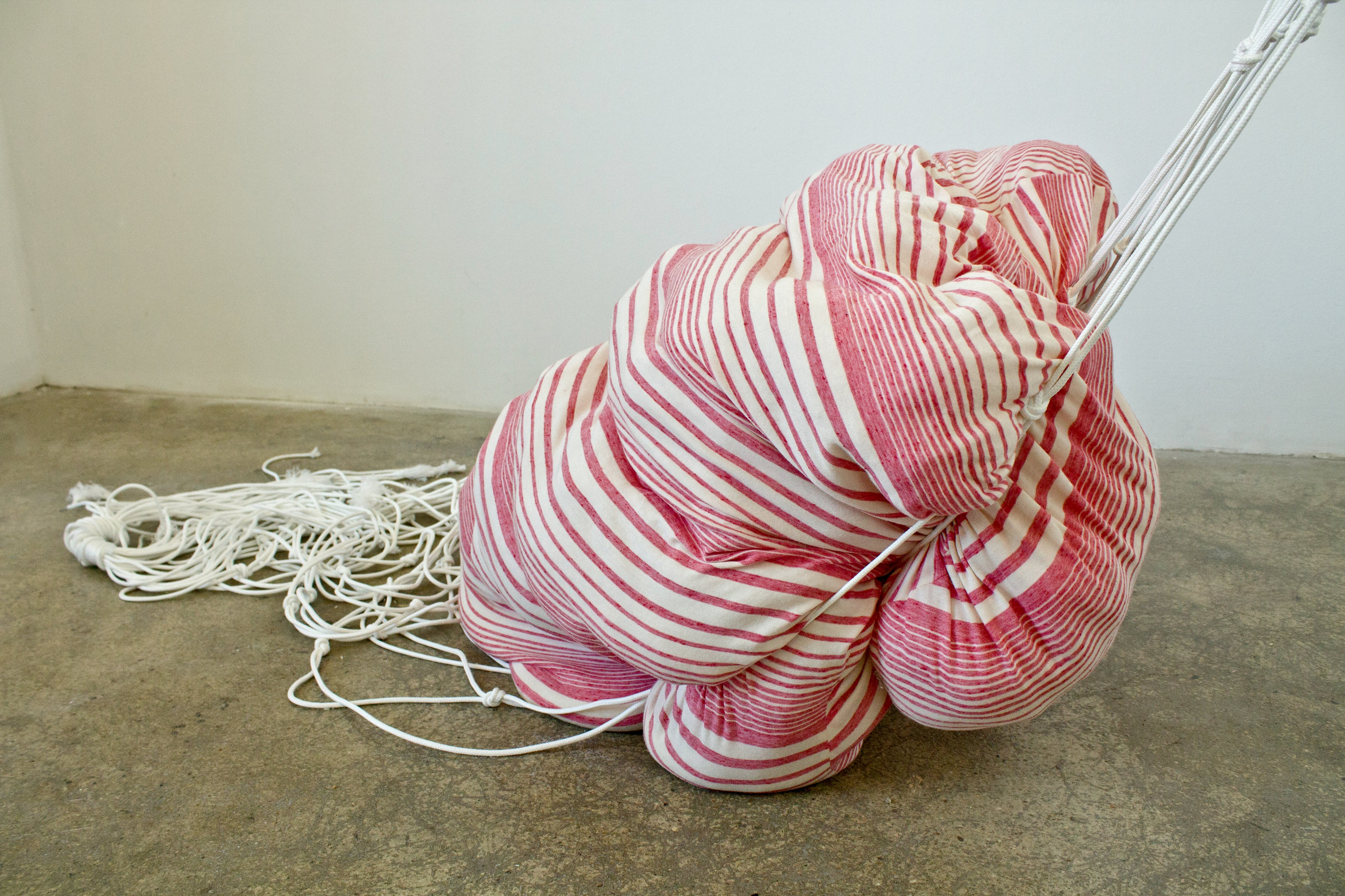 and everything nice Fabric, Knotted Rope Dimensions Variable 2015