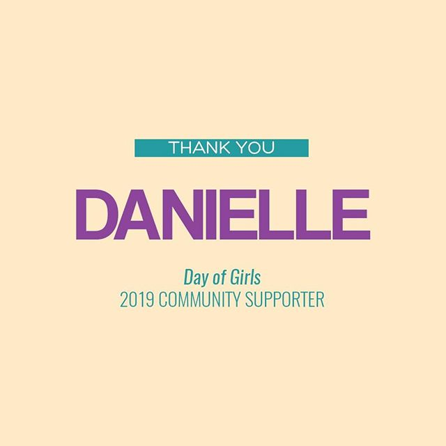 Thank you so much @danielleraegen for becoming a Her Success community supporter by donating to our Inaugural Day of Girls conference happening on Saturday, October 26th in New York City! You too can become a community supporter by donating $25 or more by clicking the link in our bio! ⠀⠀⠀⠀⠀⠀⠀⠀⠀⠀⠀⠀ What is Day of Girls all about? Her Success Inc, is working to cultivate over 50 girls to be uncomfortable with average through our first, annual Day of Girls Summit. Won't you help? Your donation will fund high-impact breakout sessions, inspiring keynote speakers, tailored materials for activities, and life altering guidance for young girls. Donate today! ⠀⠀⠀⠀⠀⠀⠀⠀⠀⠀⠀⠀ #hersuccessinc #hersuccess #forthegirls #uncomfortablewithaverage #women #mentoring #mentorship #entrepreneurs #womenentrepreneurs #womenownedbusiness #womenownedbusiness #levoleauge #empowered #empowerment #womensempowerment #thefutureisfemale