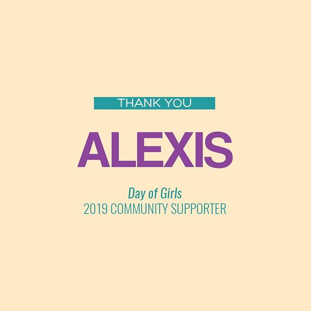Thank you so much @_alexisbreanne for becoming a Her Success community supporter by donating to our Inaugural Day of Girls conference happening on Saturday, October 26th in New York City! You too can become a community supporter by donating $25 or more by clicking the link in our bio! ⠀⠀⠀⠀⠀⠀⠀⠀⠀⠀⠀⠀ What is Day of Girls all about? Her Success Inc, is working to cultivate over 50 girls to be uncomfortable with average through our first, annual Day of Girls Summit. Won't you help? Your donation will fund high-impact breakout sessions, inspiring keynote speakers, tailored materials for activities, and life altering guidance for young girls. Donate today! ⠀⠀⠀⠀⠀⠀⠀⠀⠀⠀⠀⠀ #hersuccessinc #hersuccess #forthegirls #uncomfortablewithaverage #women #mentoring #mentorship #entrepreneurs #womenentrepreneurs #womenownedbusiness #womenownedbusiness #levoleauge #empowered #empowerment #womensempowerment #thefutureisfemale