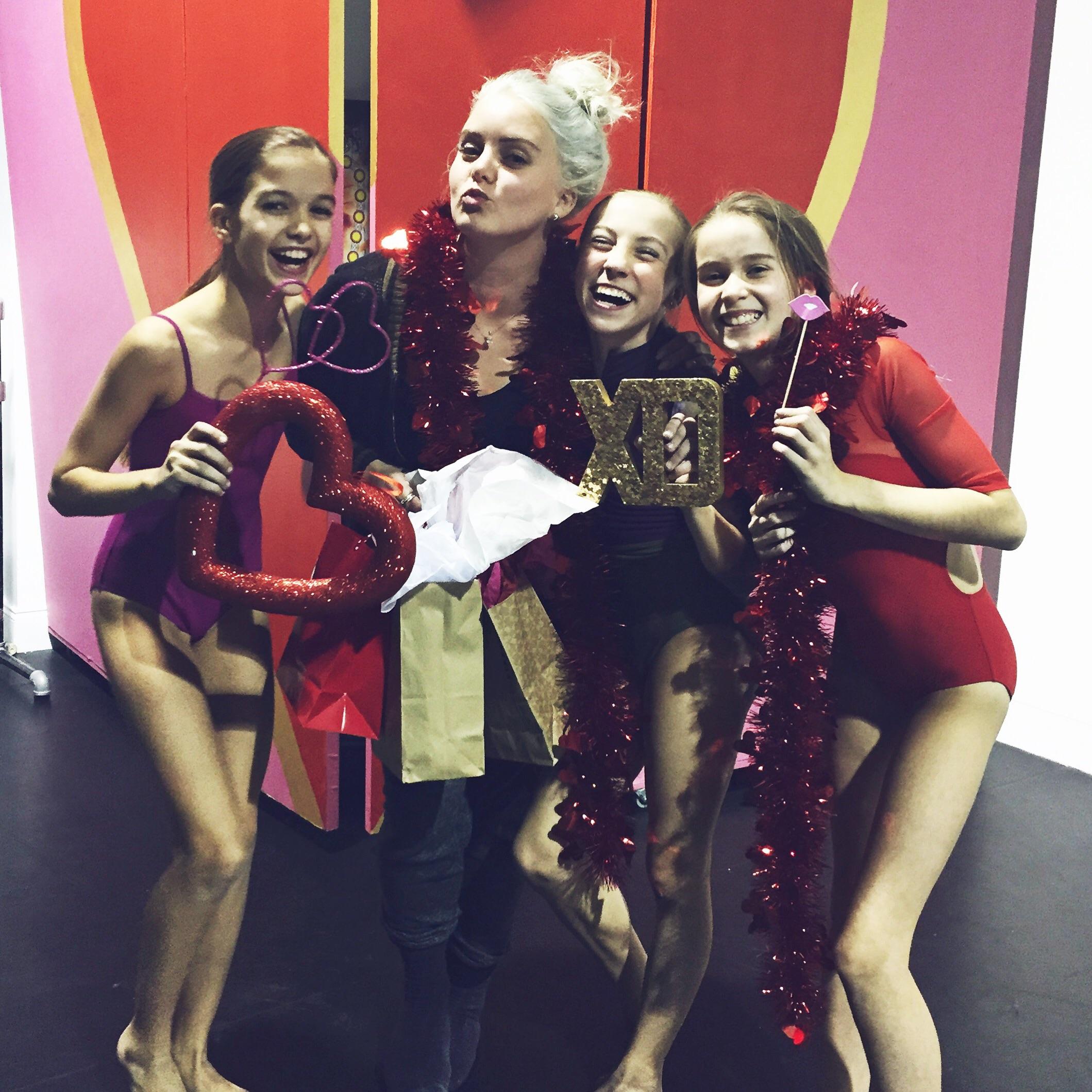 Olivia, Kathryn, and Bella from Rhythm Dance Center in Atlanta, GA