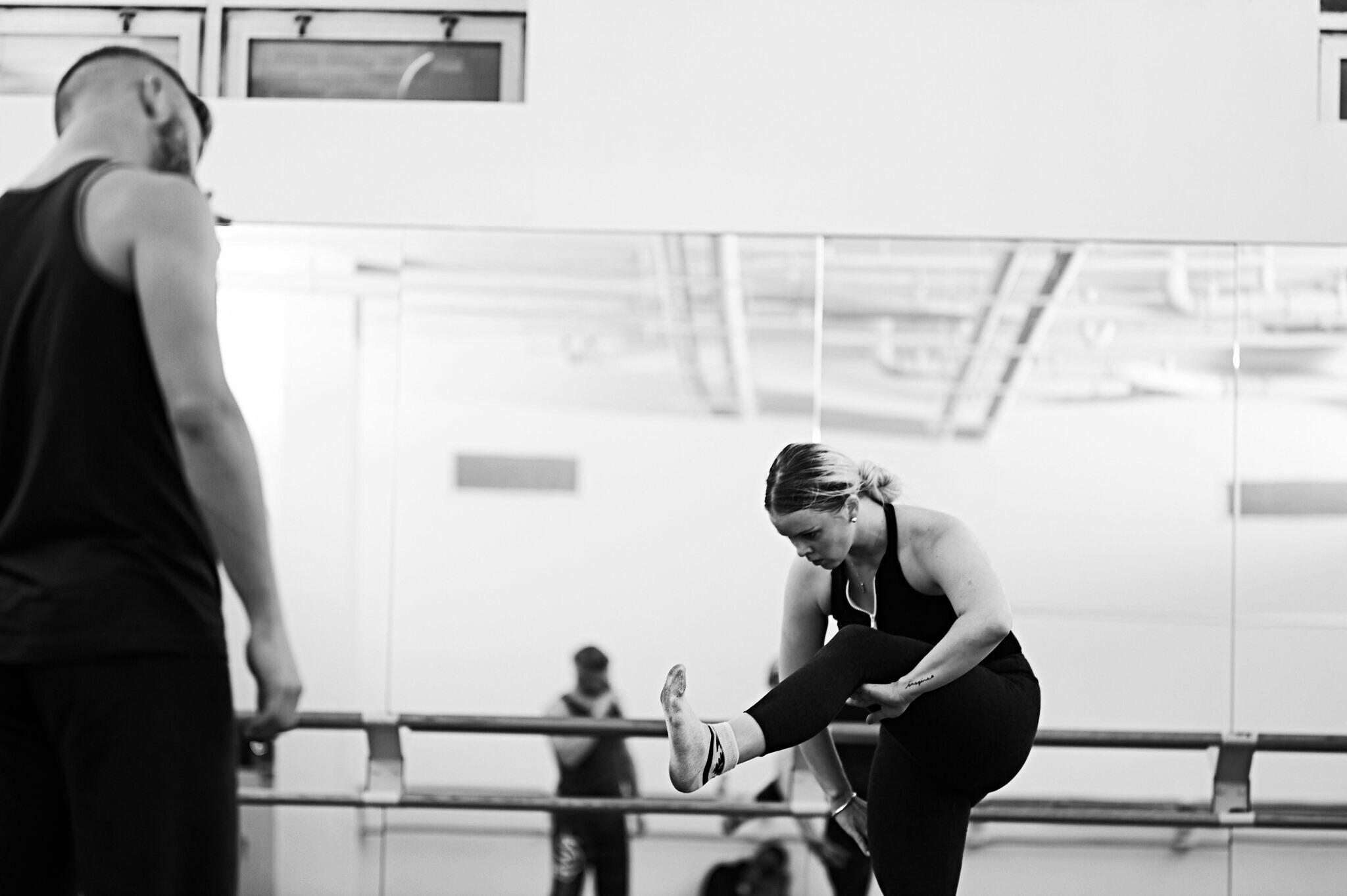 Sarah Brinson with Josh Beamish (Alex Brinson Photography)