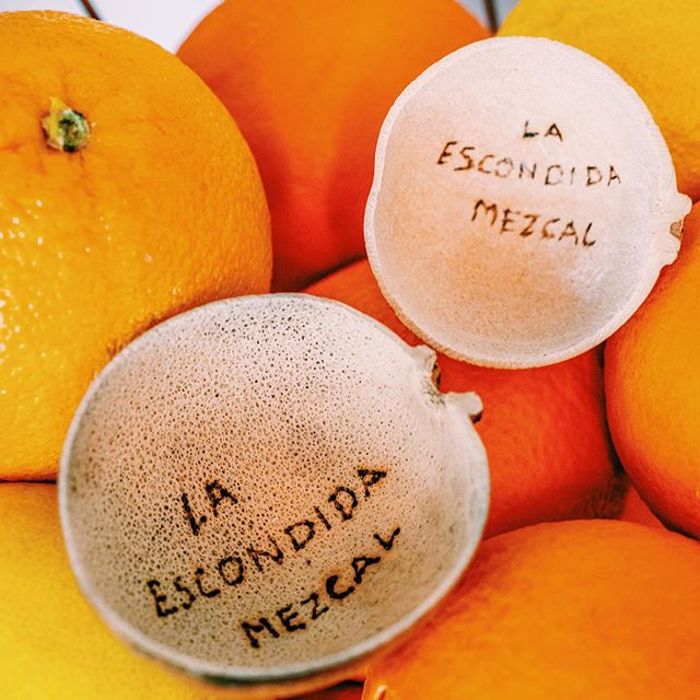 """The """"jicara"""" or copita is the traditional glass to drink Mezcal!! #OaxacaLove #LaEscondidaMezcal #ShareOurPassion"""