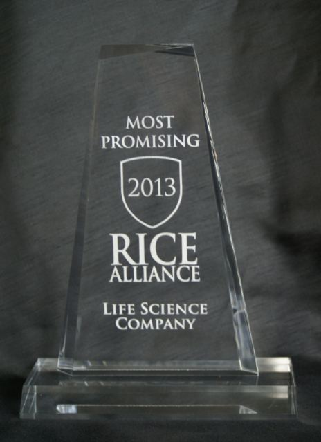 Most Promising Life Science Company Award - Texas Life Science Venture Forum