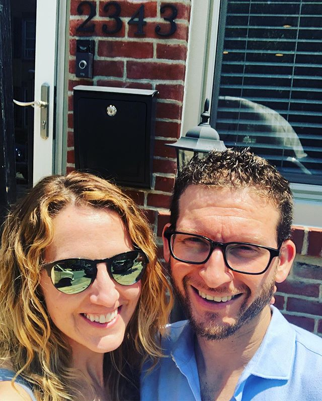 We entered into a 30 year relationship with a bank today! Officially OFFICIAL, land owning (it's concrete) #Fishtown residents 🙌🏻🙌🏻 This was a long time coming and took an awesome group of people to get us here. But mostly @ninjim. I love you, and am thrilled to be financially stuck to you for a very long time 😘😘