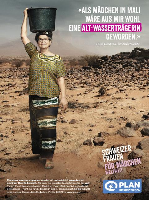 Persoenlich.com:  Alt-Bundesrätin Ruth Dreifuss wäre wohl kaum Regierungsmitglied geworden, wenn sie in Mali geboren wäre. Und Heidi Happy keine Sängerin. In vielen Entwicklungsländern werden junge Mädchen stark an ihrer Entfaltung gehindert, früh verheiratet und können nicht oder nur wenige Jahre zur Schule gehen.    Read more...