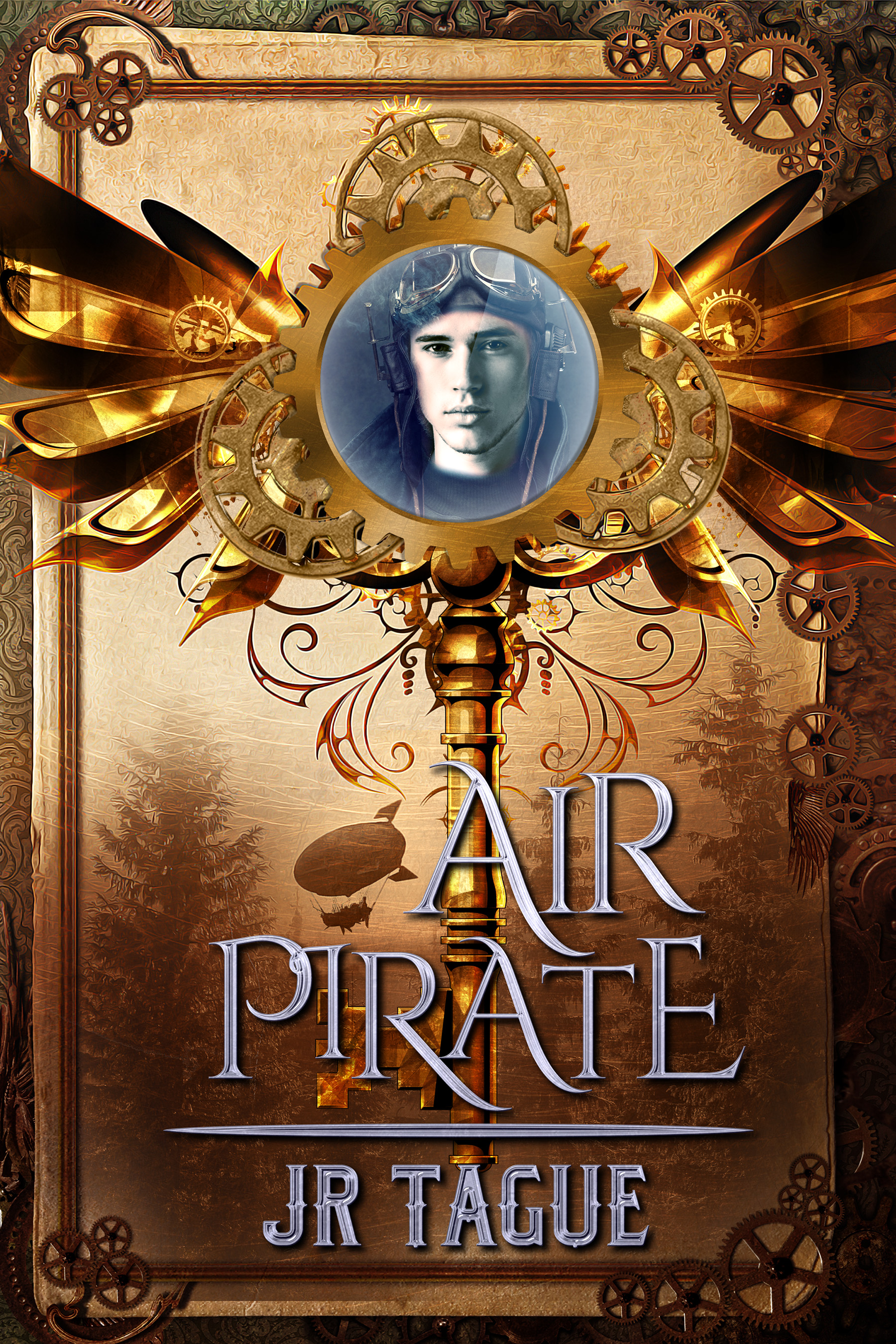 Air Pirate - Townsman thief-for-hire, Darien North, survives a crash landing when his airship explodes over hostile Woodsman territory. He even manages to ingratiate himself to members of the tribe that finds him, including a beautiful girl with wild hair and deadly archery skills. For the first time in his life, Darien starts to feel at home. But his happiness is cut short when the Town's commissioner blackmails him into stealing a secret heirloom from the Woodsman tribes. After years of being a loner, Darien is forced to choose between competing loyalties: friends or family, woods or town. And when he learns of an old, deadly weapon that could put all of humanity at risk, he must decide what—or whom—he's willing to sacrifice to save them all.