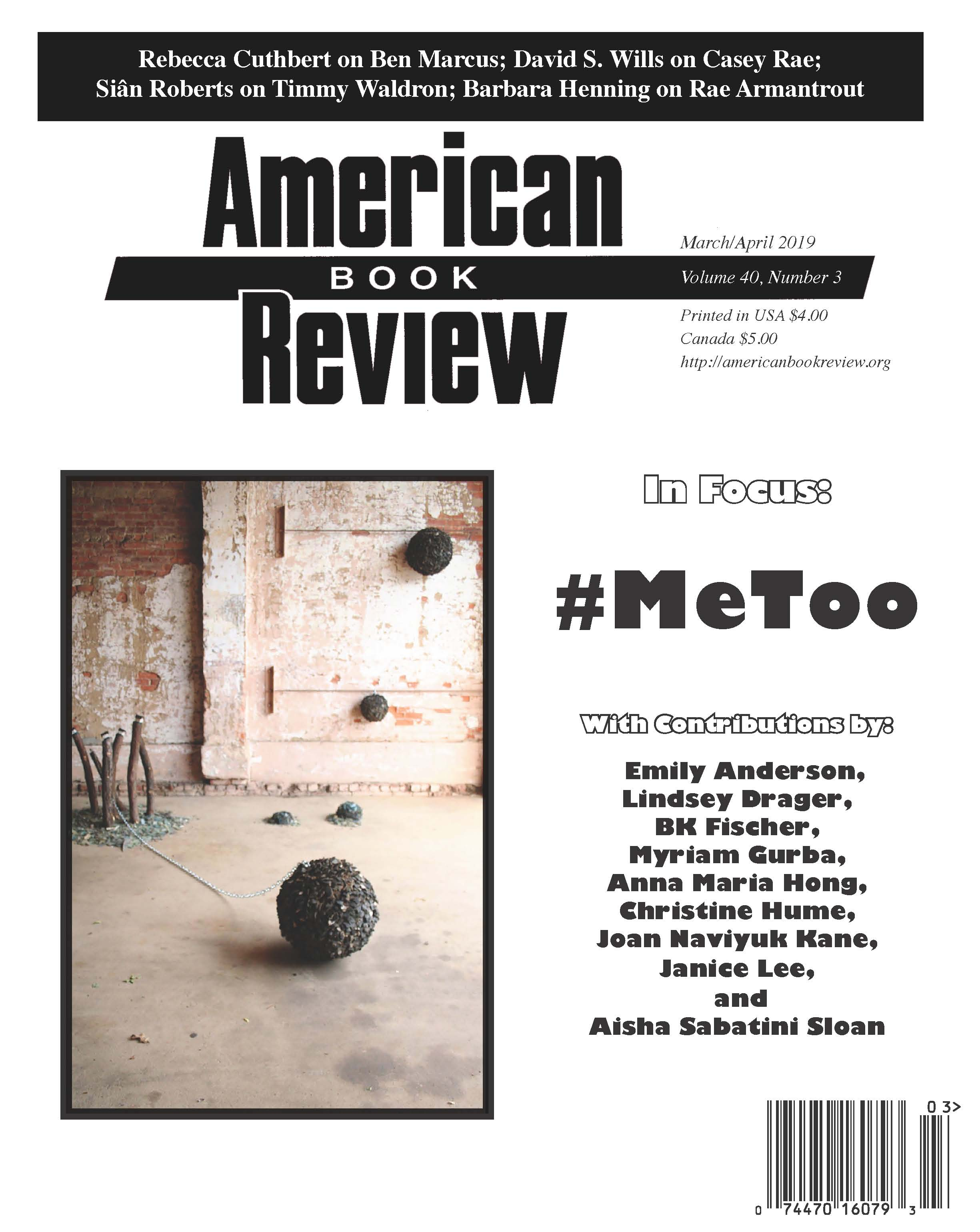 AMERICAN BOOK REVIEW — akinoga press