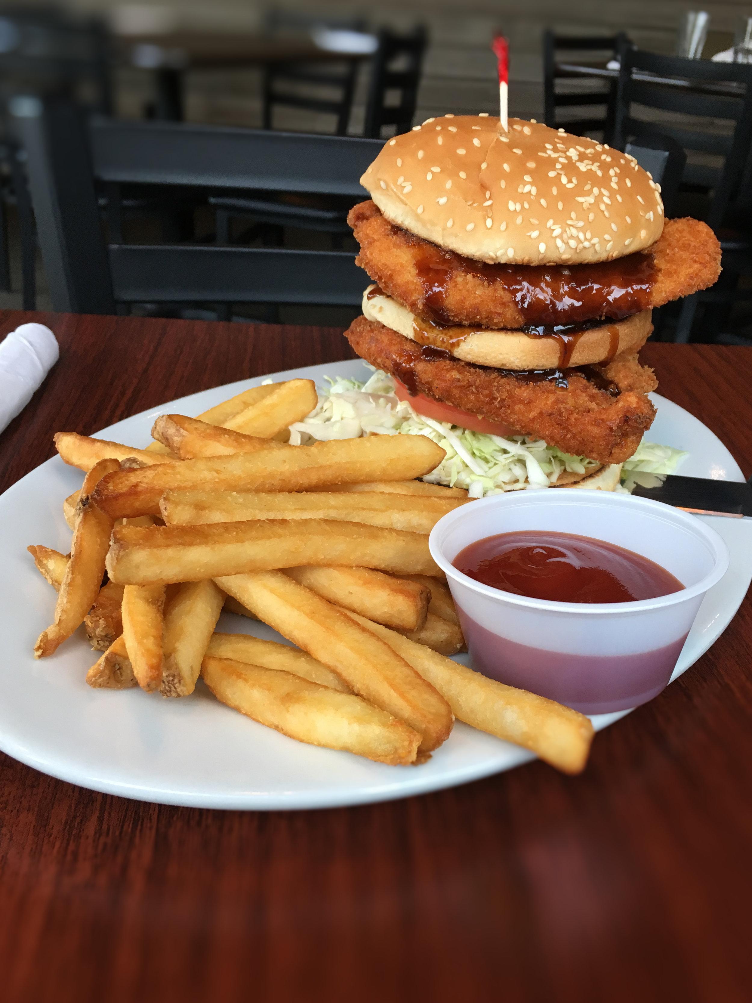 T's Chicken Katsu Burger