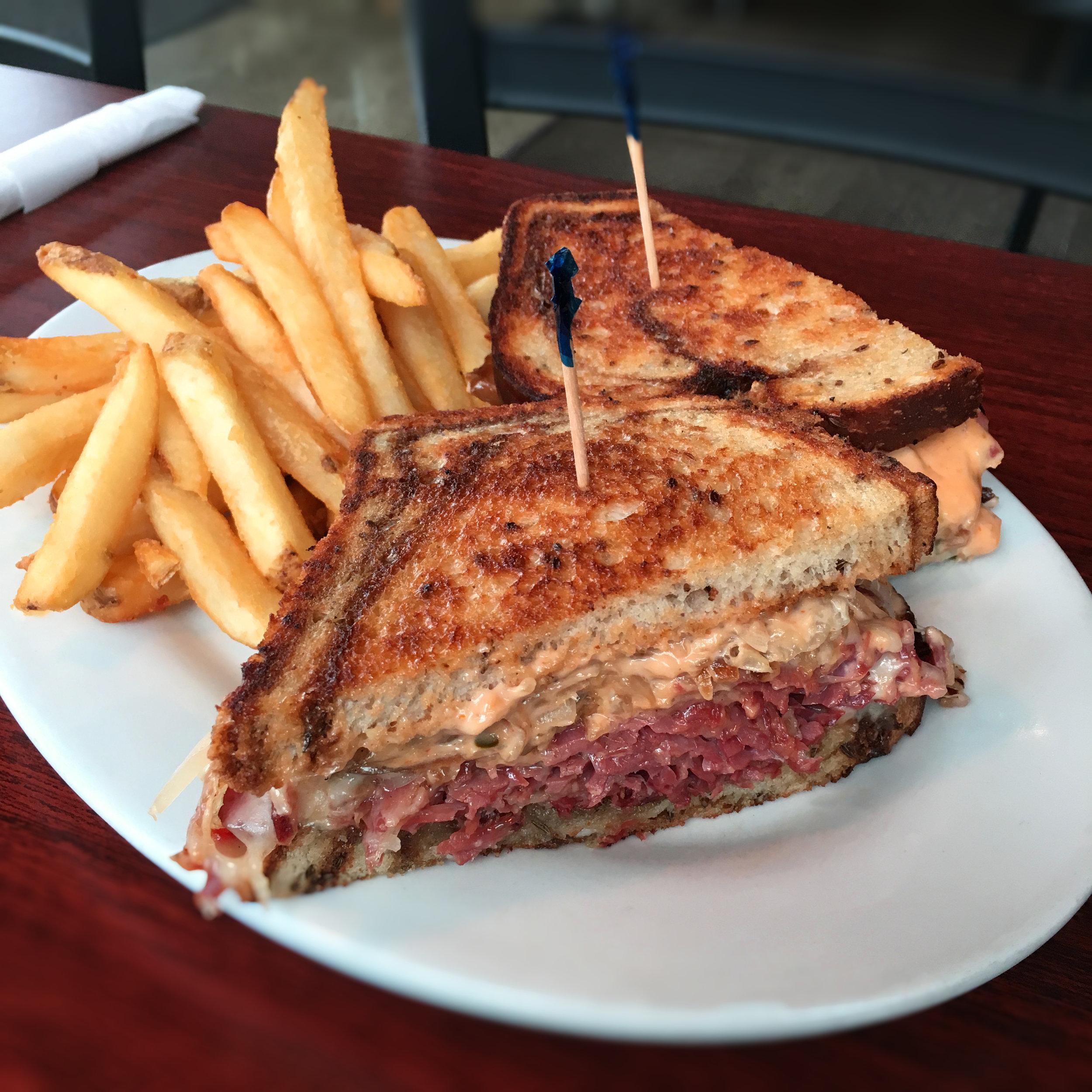 T's Corned Beef Reuben Sandwich