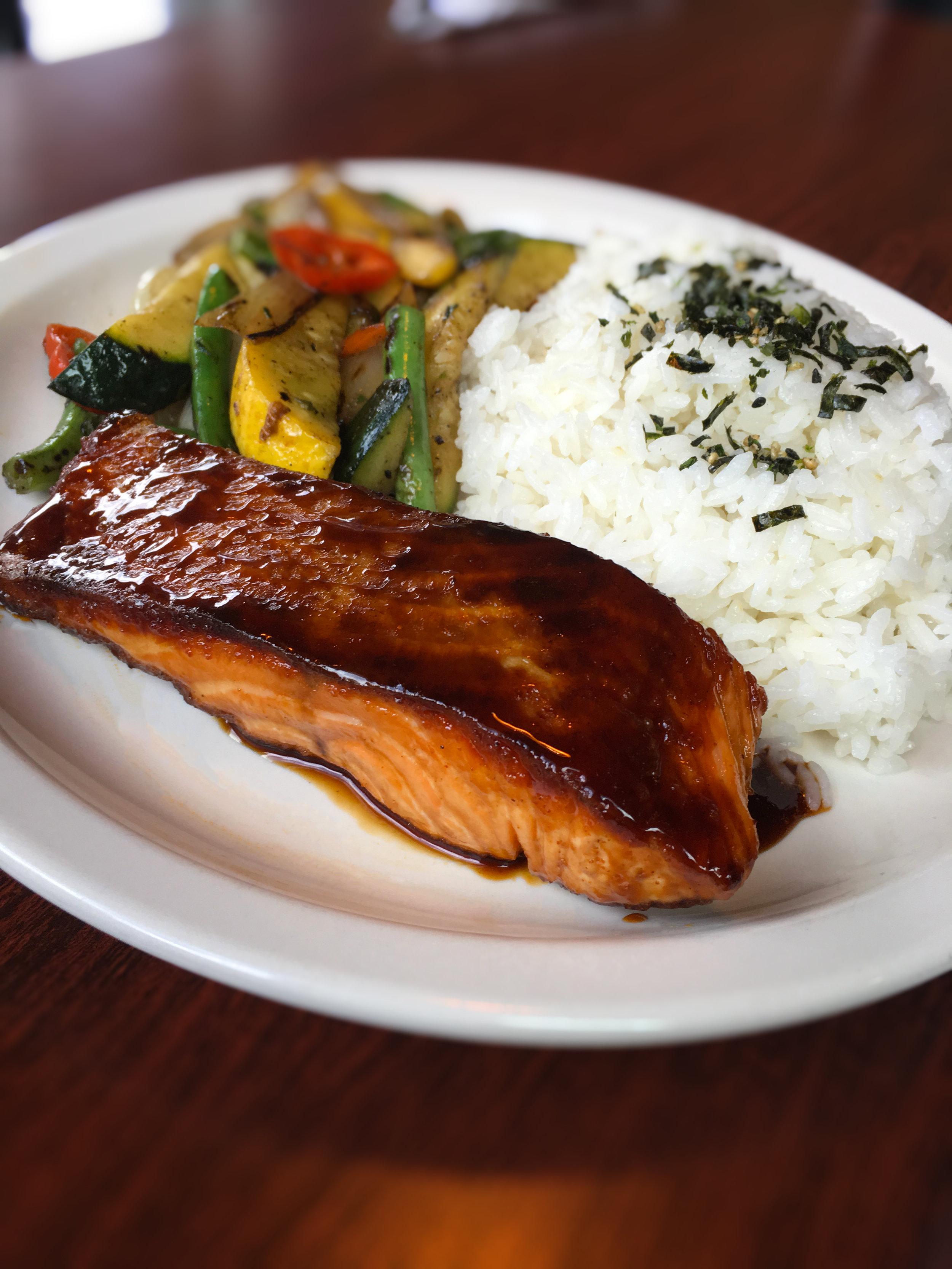 Terry-aki Salmon Special