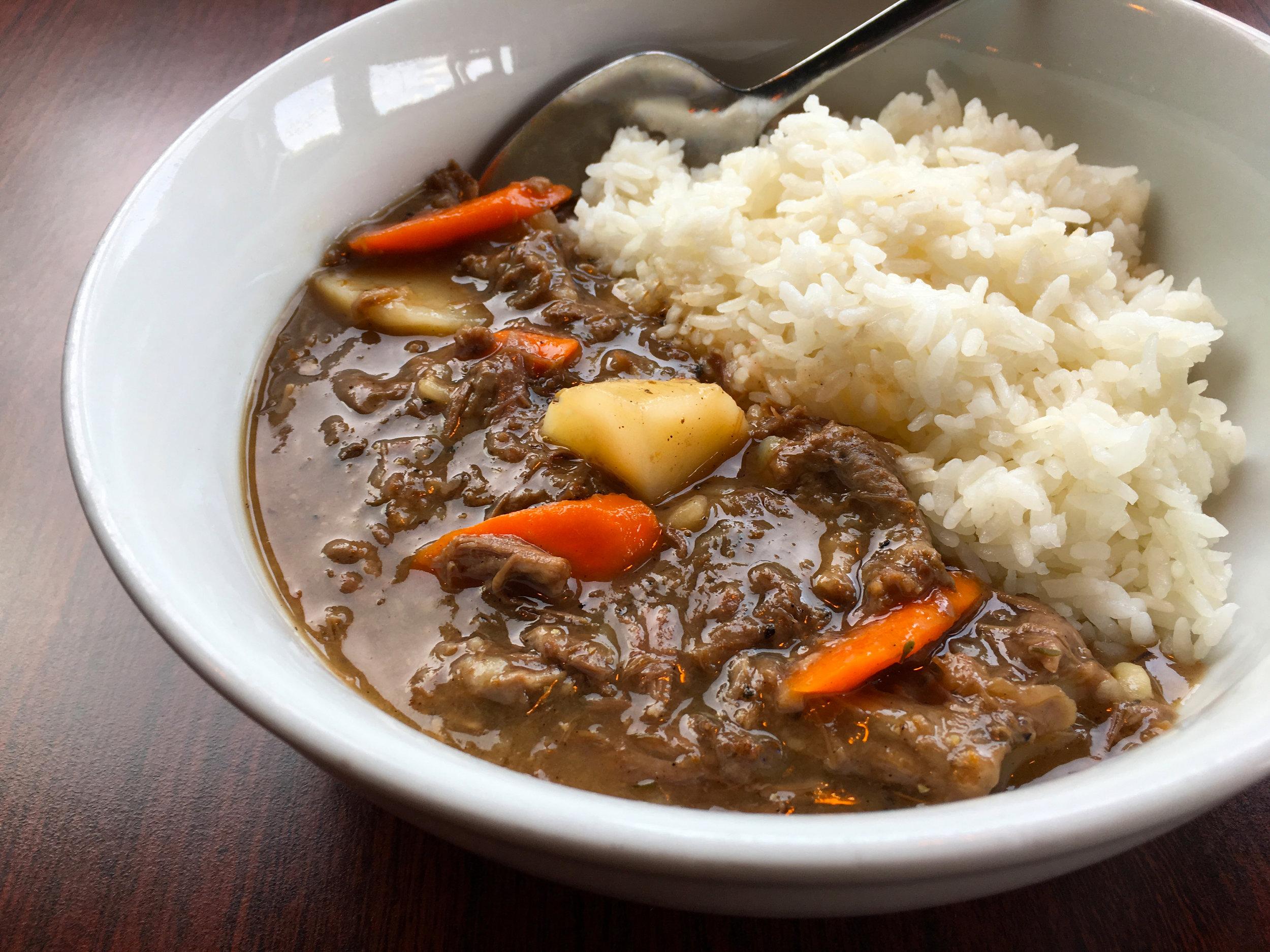 Pepper Pot Beef Stew Special