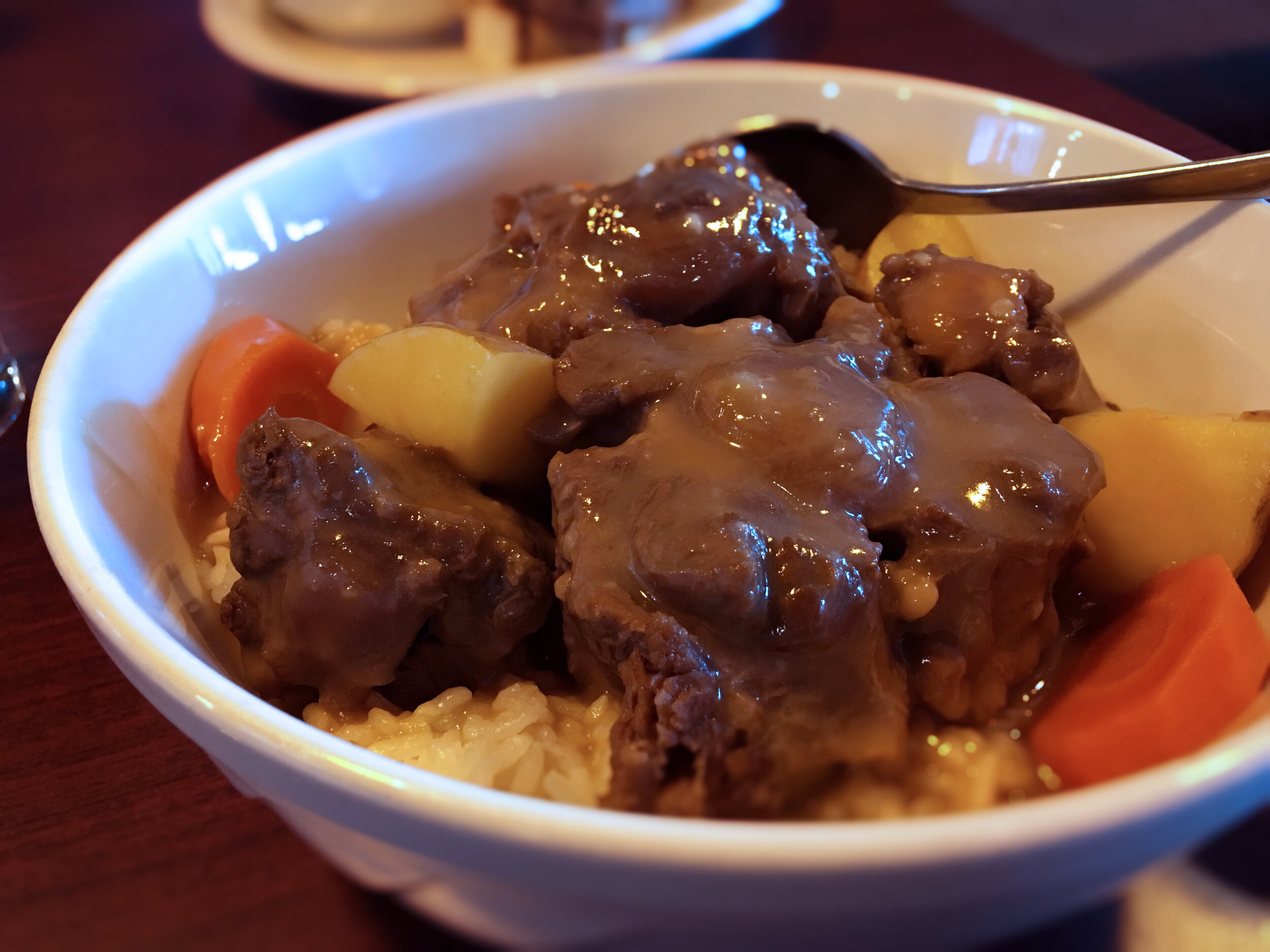 Oxtail Stew Tuesday Special