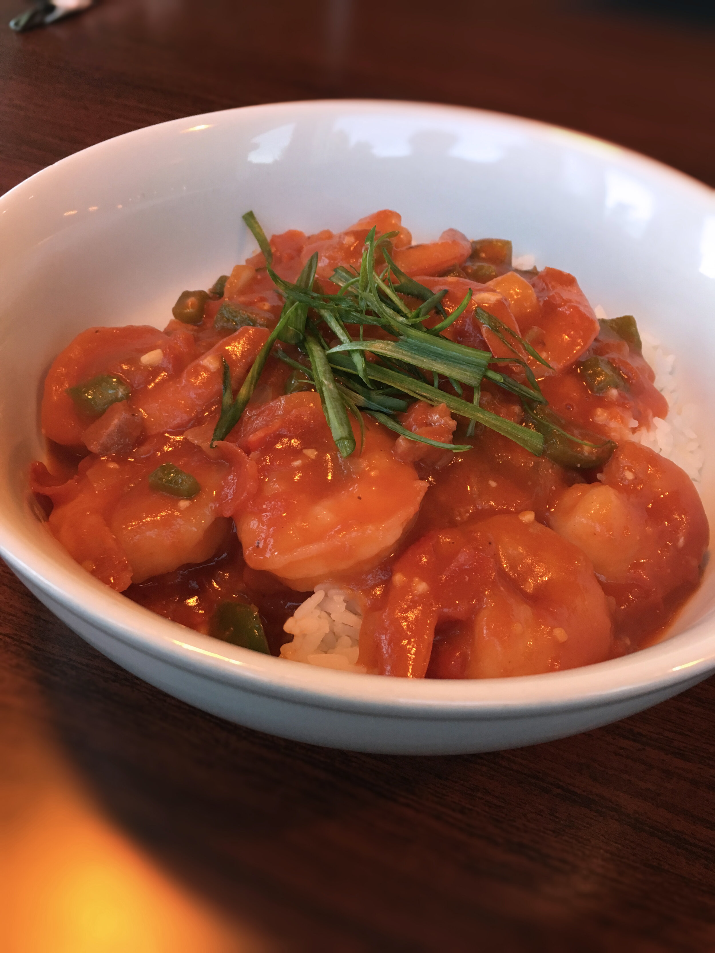 Shrimp Étouffée Over Rice