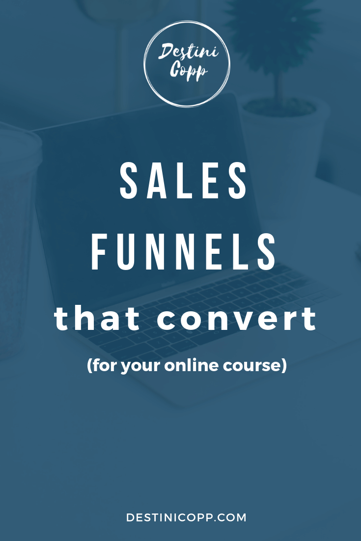 Sales Funnel that Convert (for your online course)