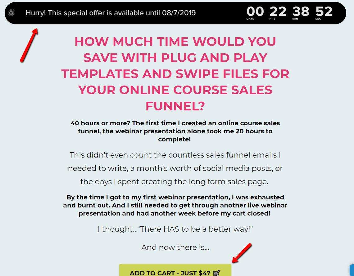 Ultimate Launch Bundle Sales Page