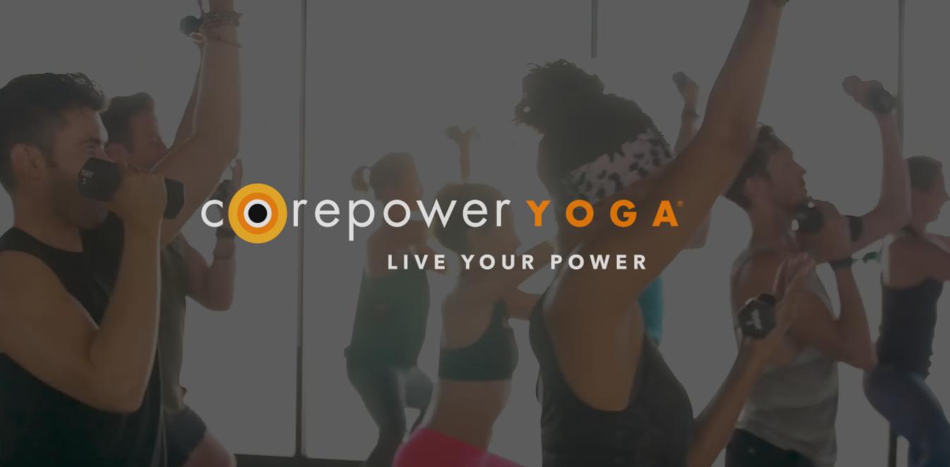 CORE POWER YOGA -  12 W. Maple St. 4th Floor, Chicago - June 1st,6:30p - 8p