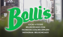 BELLI'S JUICE BAR AND LOCAL FOODS MARKET-  1223 W 18th St. Chicago - June 17th, 10:30a - 1p