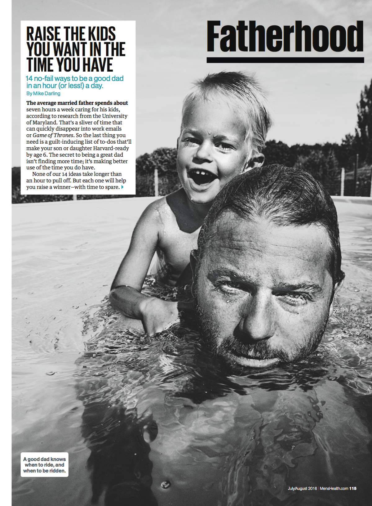Fatherhood // Men's Health