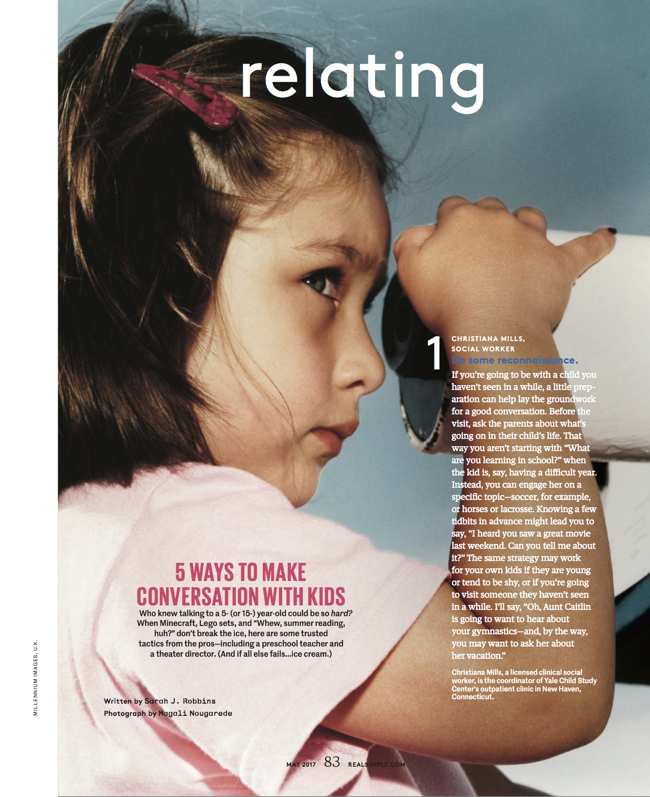 Conversation with kids // Real Simple
