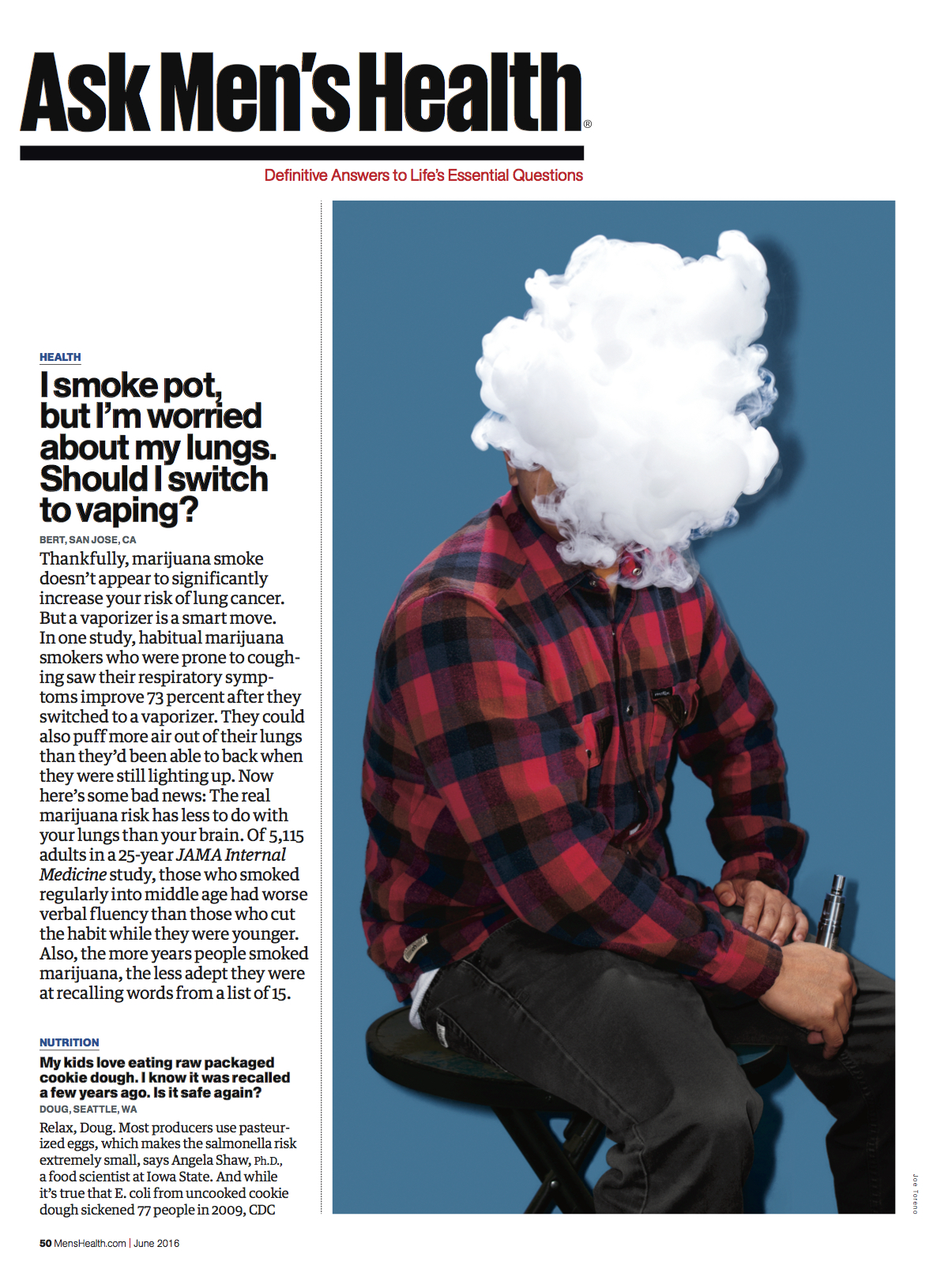 Vaping // Men's Health