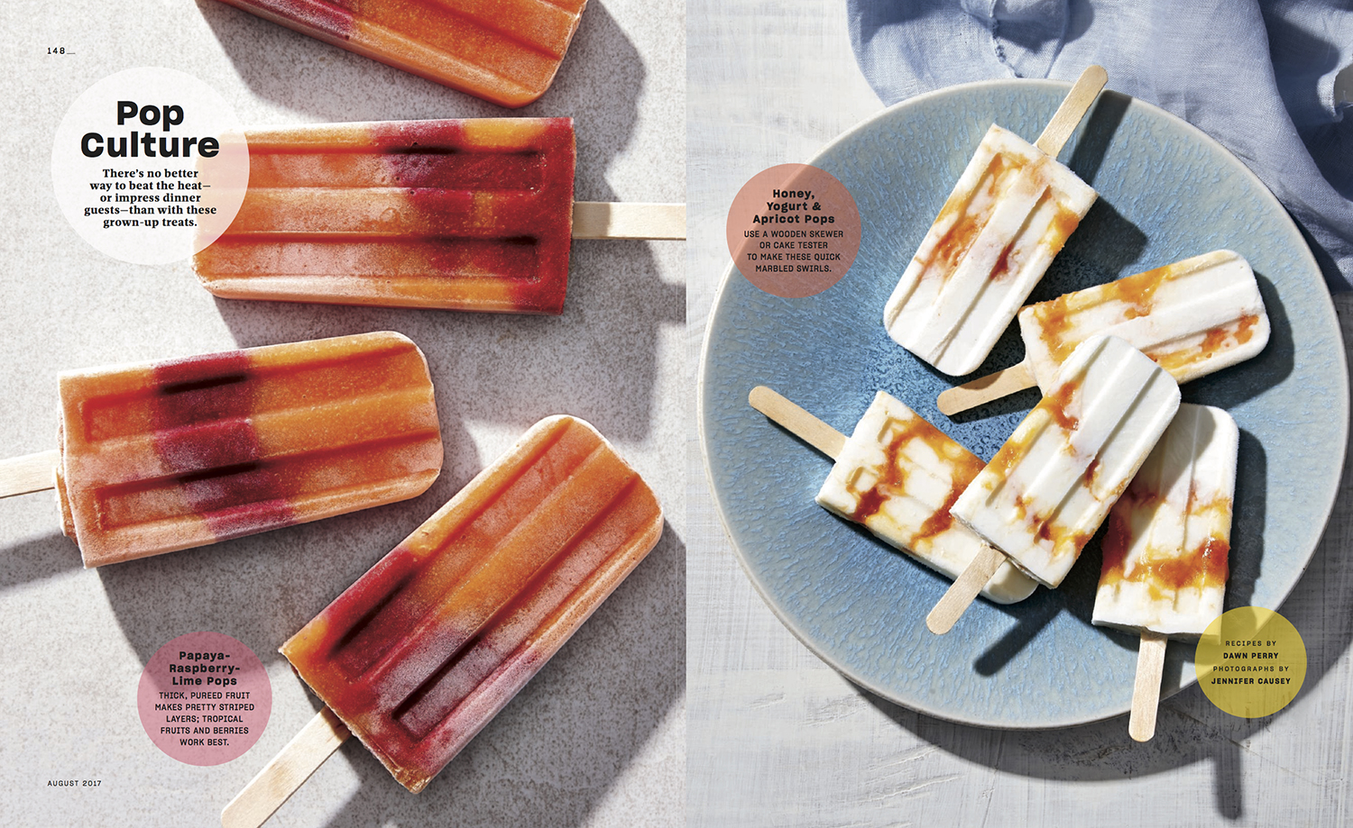 Popsicles // Real Simple