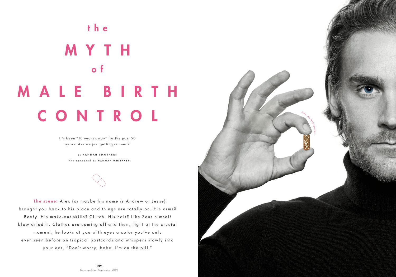 Male Birth Control // Cosmopolitan
