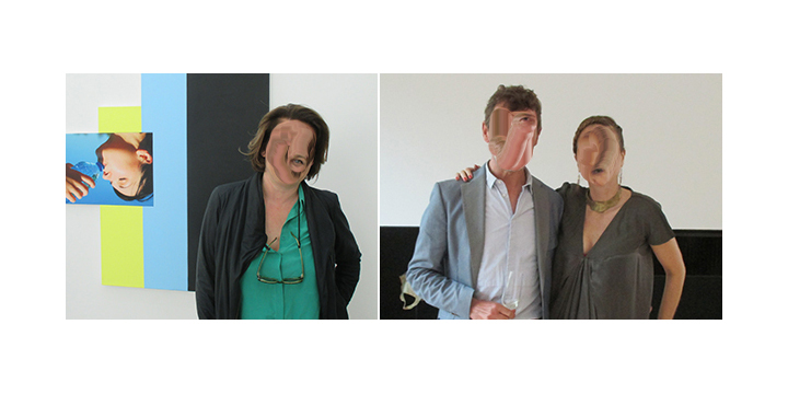 Left-Dealer Catherine Bastide. Right- Artist Philippe Terrier-Hermann and collector Nathalie Guiot_01.jpg