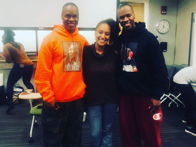 It was an honor to listen to Can't Stop Won't Stop Hip Hop story and recover insight and wisdom from them as hip hop educators 😊