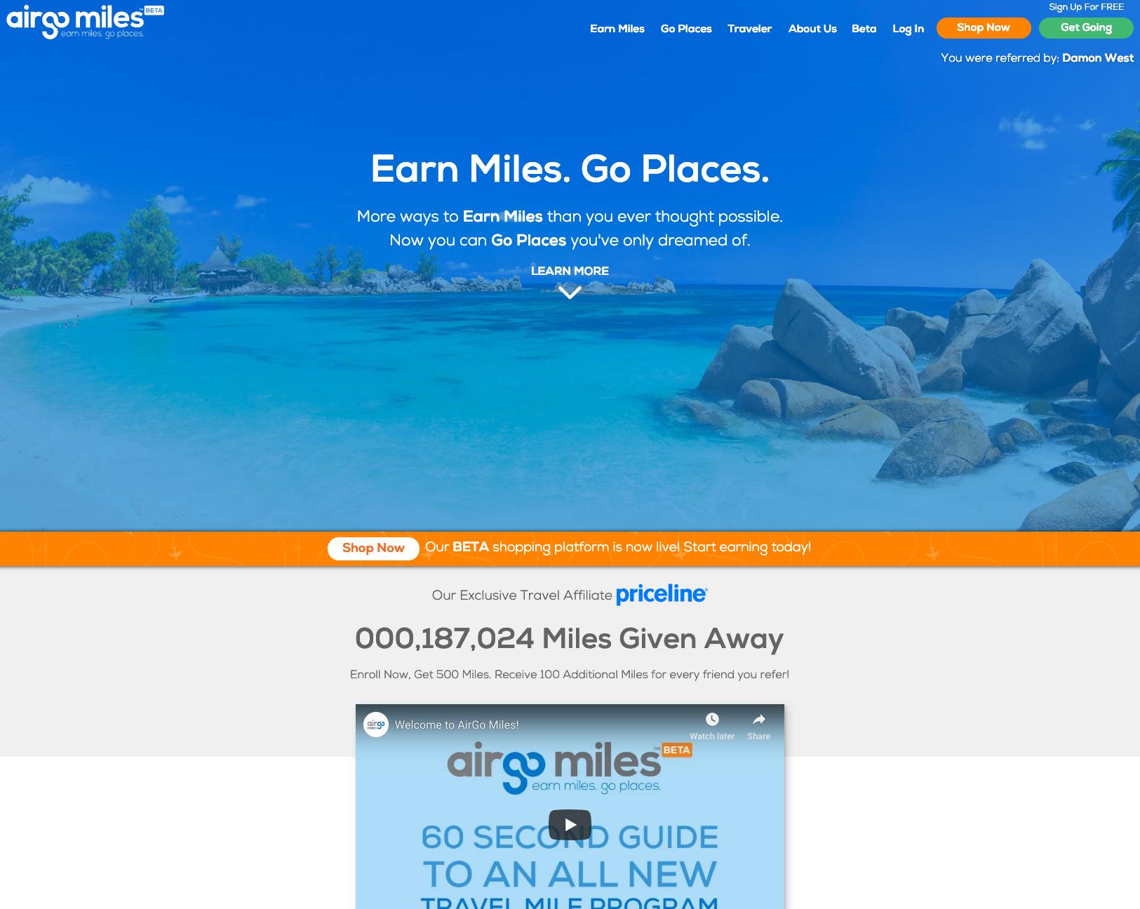 AirGo Miles