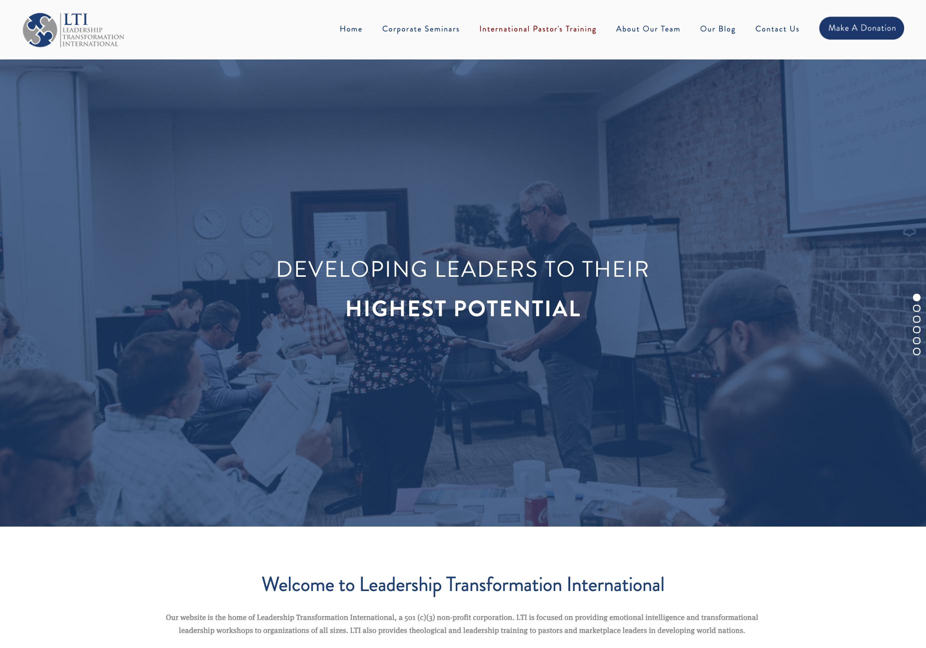 Leadership Transformation International