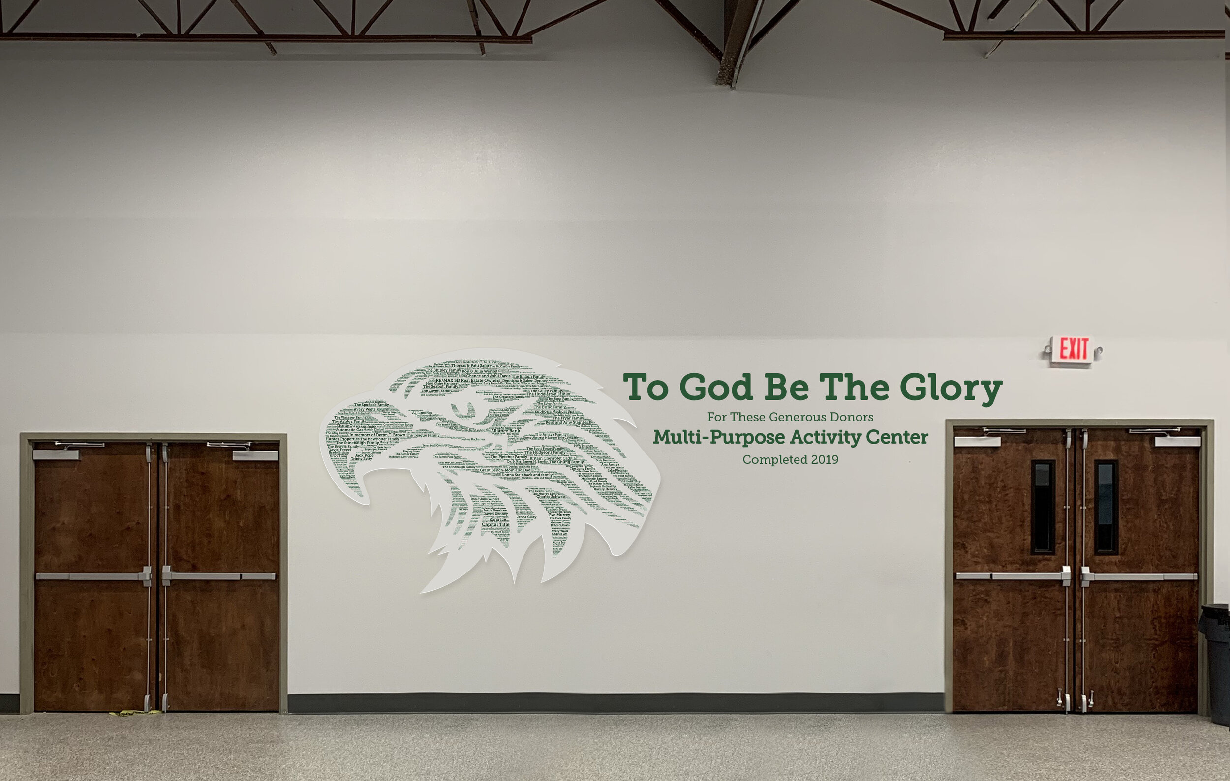 Eagle Wall Artwork