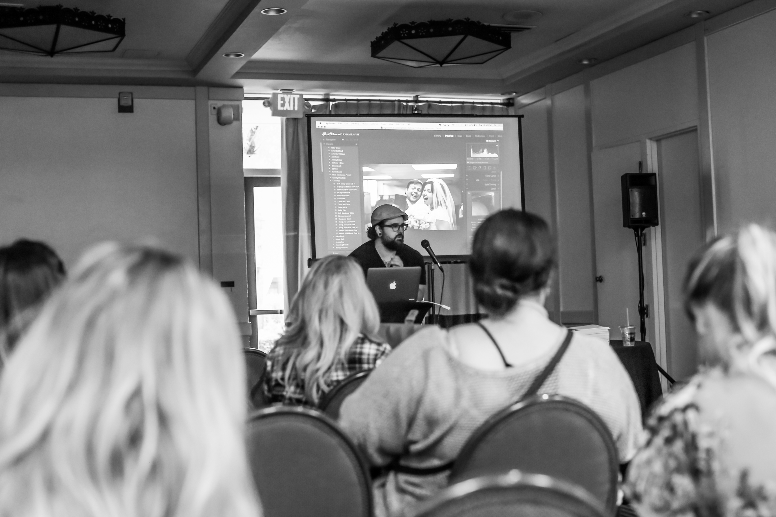 Teaching Lightroom at the United 2015 conference in Phoenix, AZ