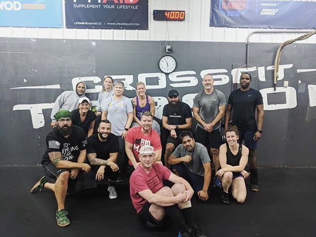 I've learned so much this year from involving my life with this community... it has helped me find strength and determination I hadn't been accessing and given me permission to pursue the life I choose every day. @crossfittorsion has changed my life and it all started in a cold, dark little gym over 2 years ago and has become a regular and necessary part of my life. Anxiety, fear, stress, tiredness, sickness, worry and heavy heart all find their place at the feet of the barbell. It doesn't care how your day has been, and my brain takes rest in the heavy breath and focus it requires. It doesn't make it all go away, but for some reason, for an hour, it takes its place in my life and not the driver seat. I love and hate this place and am always thankful for the programming, community and challenging love that comes from the leadership here. I know lots of ppl will be looking to make life changes for their health soon, but this place is about more than losing weight, lifting heavy weight or being awesome. Those things will happen too, but you'll find a family you don't know you're even missing yet. #gymfam #fitfam #crossfitter #crossfitfamily