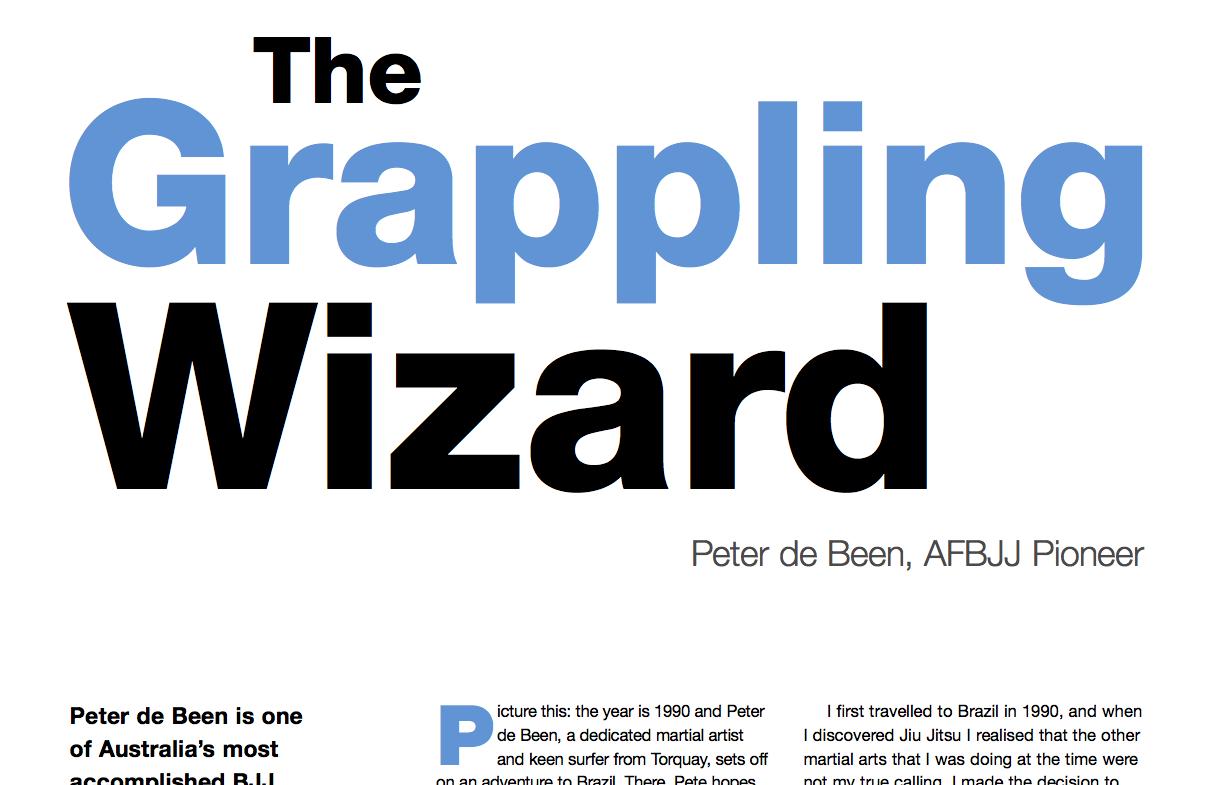 BLITZ! Magazine article on Peter de Been