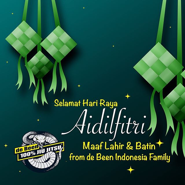 Selamat Hari Raya Aidilfitri! May the Blessings of Allah keep your heart happy and joyous! From de Been Indonesia family 🕌🌙🙏