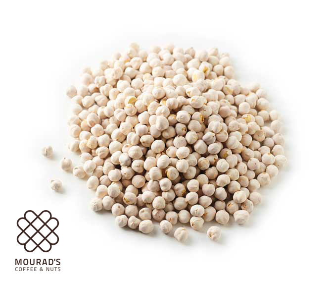 White Roasted Chickpeas