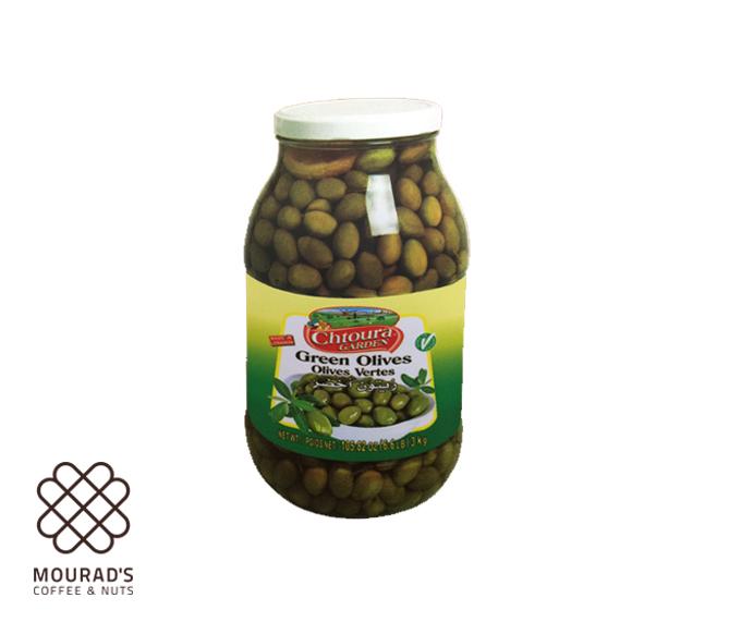 Green Olives 1kg/3kg