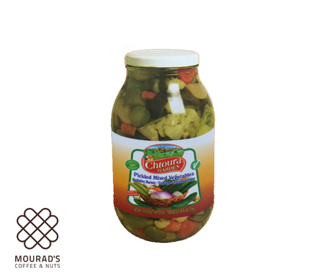 Vegetables Mix Pickled 1kg/3kg