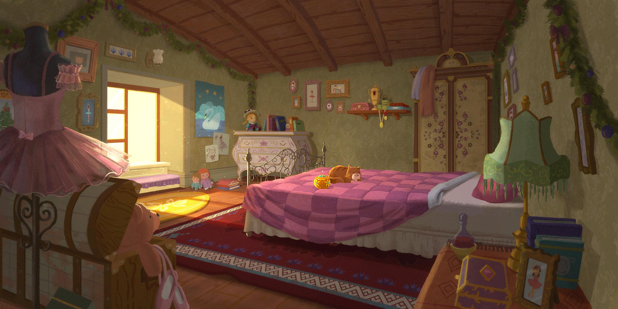 Soyun Park / The Nutcracker / Clara's room