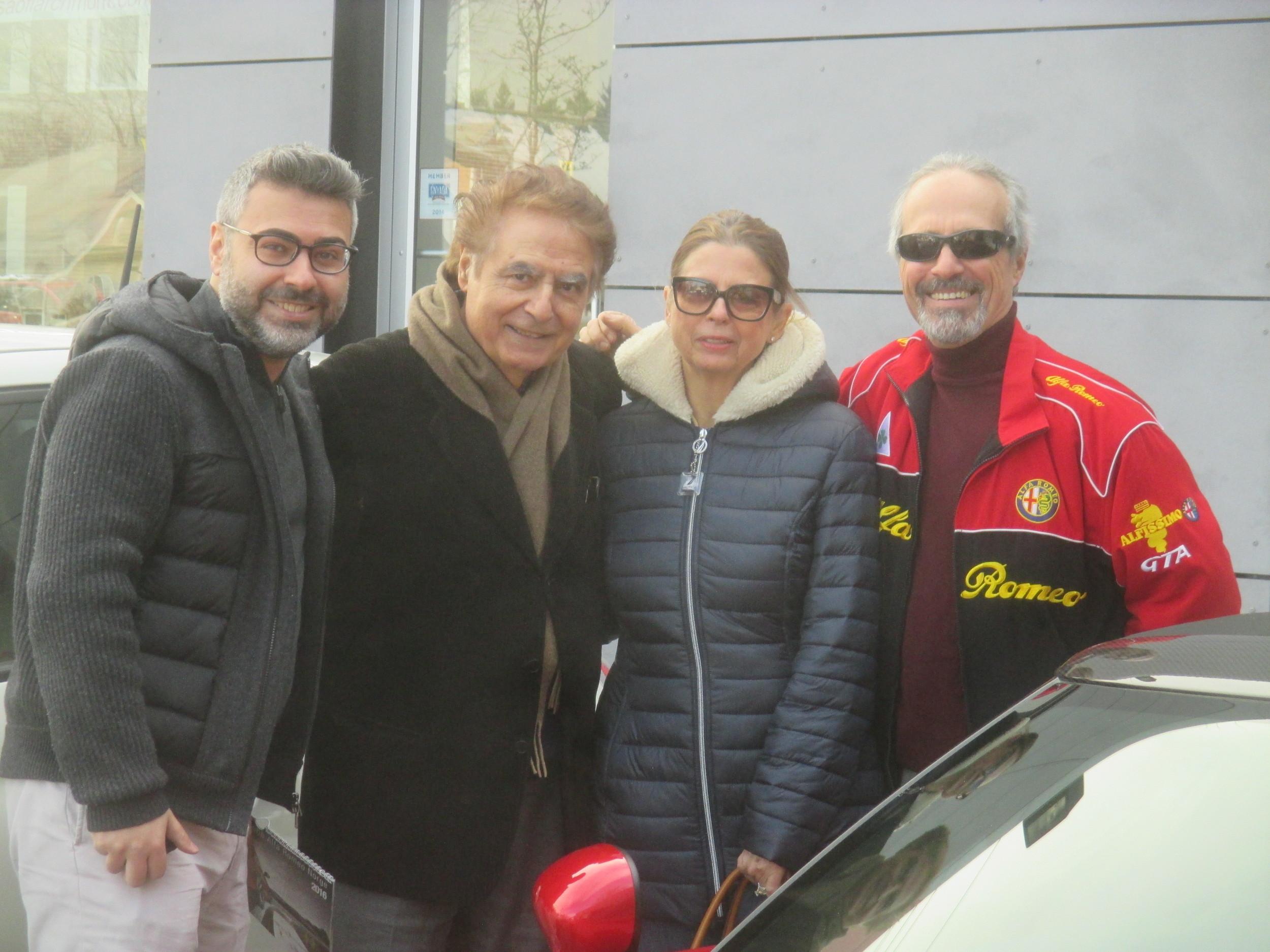 Fernando & Alfredo Gulla plus Gail & Vic Cerami.